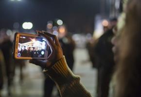 Filming police in Ferguson