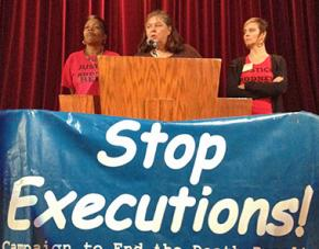 Speakers at the Campaign to End the Death Penalty's annual conference