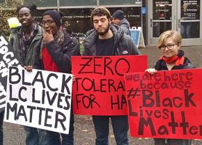 PSU students show their solidarity with victims of racist violence