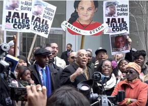 Family and supporters rally for justice for Akai Gurley