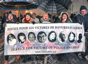 Montreal marches for justice for Jean Pierre Bony and other victims of police murder