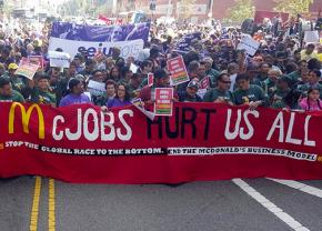 The Fight for 15 in LA marching on a national day of action April 15