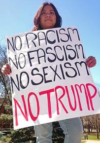 Hudson Valley protesters stand up against Trump