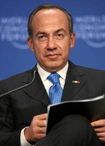 Former Mexican President Felipe Calderón