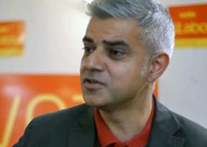 London Mayor Sadiq Khan
