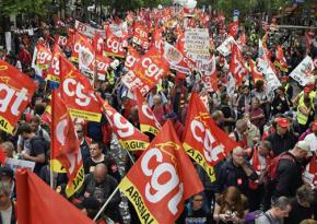 More than 1 million people took to the streets of Paris against labor law deform