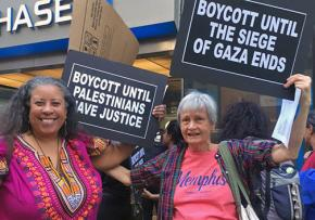 New Yorkers protest Gov. Andrew Cuomo's anti-BDS order
