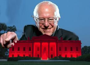 Could President Sanders turn the White House red?