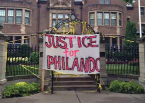 Opponents of police violence blockaded the governor's mansion after Philando's murder