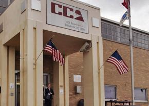 A for-profit prison run by Corrections Corporation of America