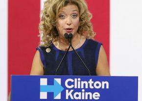Former DNC Chair Debbie Wasserman Schultz