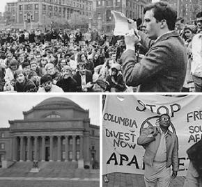 Student struggles at Columbia University in New York