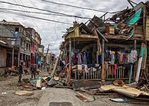 Residents return to their crumbling homes after Hurricane Matthew strikes Haiti