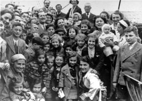 Jewish refugees aboard the St. Louis in 1939