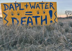 At the Standing Rock protest camps