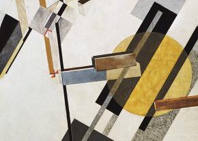 """Proun 19 D"" (1922), by El Lissitzky"