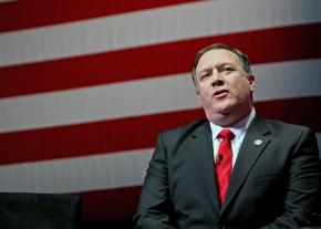The new CIA Director Mike Pompeo