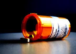 Prescription pill bottle