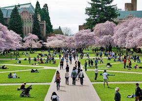 A new semester begins at the University of Washington