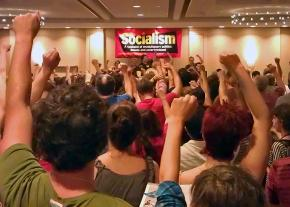 The crowd at the Socialism conference
