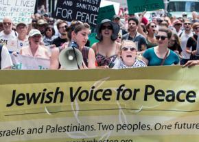 Marching in Boston against Israeli apartheid