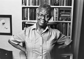 Radical poet and activist Gwendolyn Brooks