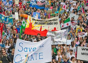 Thousands pour into the streets of Hamburg to protest the G20 Summit