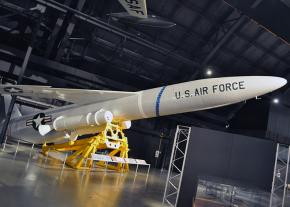 A pilotless U.S. nuclear missile from the early years of the Cold War with the ex-USSR