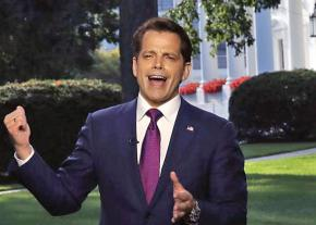 Trump's ex-communications director Anthony Scaramucci