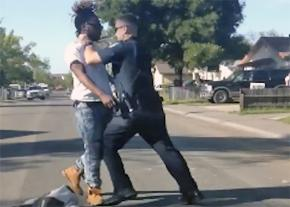 Dashcam video captures Nandi Cain being assaulted by Sacramento police