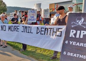 Activists rally against mass incarceration in Broome County, New York