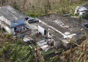 Families in distress call for help in the mountains of Puerto Rico
