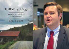 Cover image: <i>Hillbilly Elegy</i> author J.D. Vance