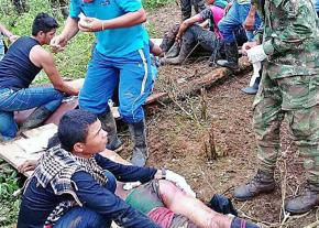 Tending to the wounded victims of state violence in Tumaco