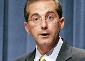 Trump's nominee for Health and Human Services Secretary Alex Azar