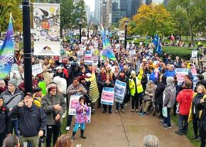 Public University faculty and staff strike in Ontario, Canada