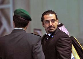 Lebanon's Prime Minister Saad Hariri in Saudi Arabia