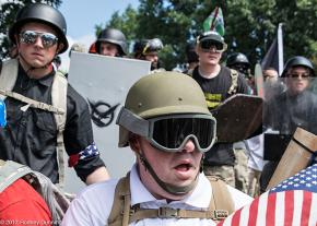 Fascists on the streets of Charlottesville