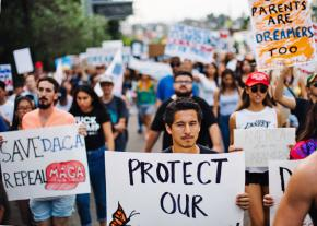 Thousands march to defend DACA and immigrant rights in Los Angeles