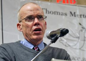 Author and environmentalist Bill McKibben