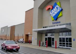 A Walmart Sam's Club store in Maplewood, Missouri