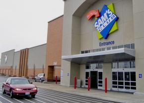 A Walmart Sam's Club store in Maplewood, Missouri
