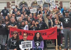 Teachers and students stand up for Black lives in Seattle