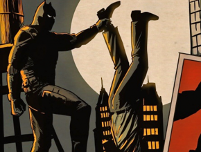 The Black Panther at work in Manhattan in a 1970s comic