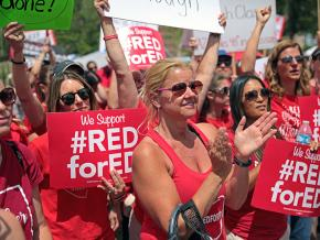 Thousands of Arizona educators descended on Phoenix during the #RedForEd rebellion