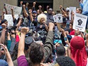 Protesters demand justice for Antwon Rose in Pittsburgh, Pennsylvania