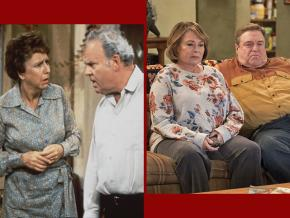 Left to right: All in the Family and Roseanne