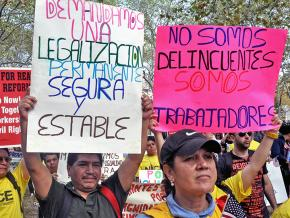 Immigrant workers rally in New York City to demand full legal and political rights