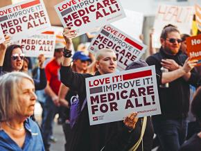 Taking to the streets for single-payer health care in Los Angeles