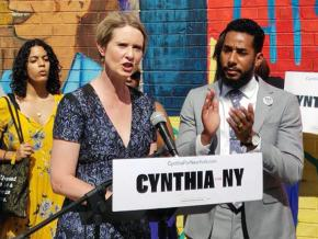 New York gubernatorial candidate Cynthia Nixon